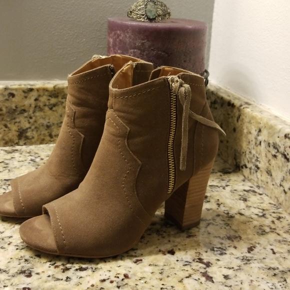 3ad37d004e7b Women s XOXO Barron ankle peep toe bootie. M 5b5e44755c44528334ded055